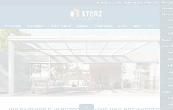 Vorschau von www.glasbau-storz.de, Storz Glas- und Metallbau GmbH