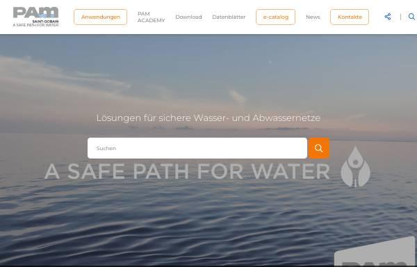 Vorschau von www.gussline.de, Saint Gobain Gussrohr GmbH & Co KG
