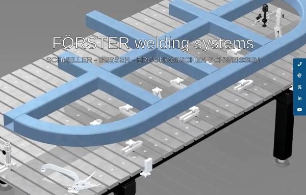 Vorschau von foerster-gmbh.de, Förster GmbH