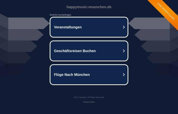 Vorschau von www.happymusic-muenchen.de, Happymusic