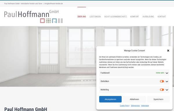 Vorschau von hoffmann-fenster.de, Paul Hoffmann GmbH
