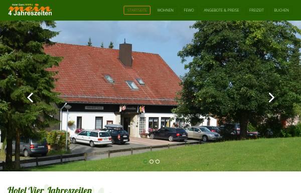 Vorschau von www.vier-jahreszeiten-harz.de, Vier Jahreszeiten St. Andreasberg