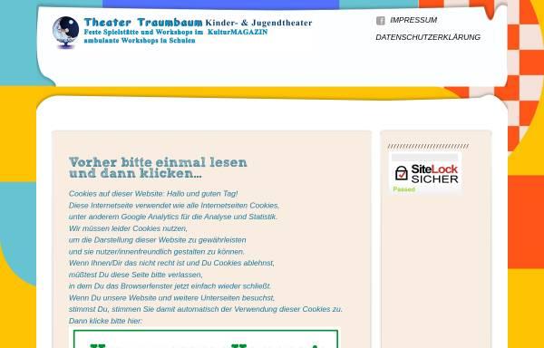 Vorschau von theater-traumbaum.de, Kinder- & Familientheater TRAUMBAUM