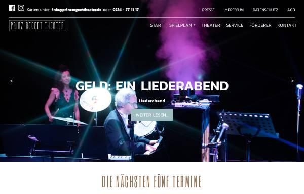 Vorschau von www.prinzregenttheater.de, Prinz Regent Theater