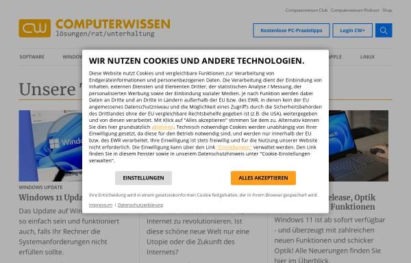 Vorschau von www.pc-begriffe.de, PC Begriffe