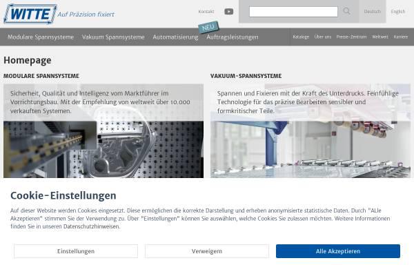 Vorschau von www.witte-barskamp.de, Horst Witte Gerätebau
