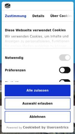 Vorschau der mobilen Webseite www.burkart-geruestbau.de, Burkart Gerüstbau GmbH