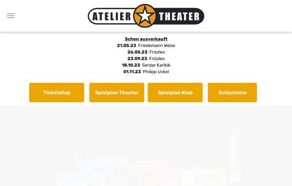 Vorschau von www.ateliertheater.de, Atelier Theater