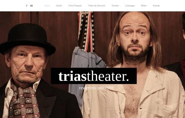 Vorschau von www.triastheater.de, Trias Theater Ruhr