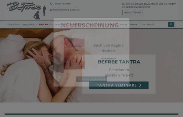 Vorschau von www.befree-tantra.de, BeFree Tantra