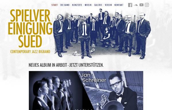 Vorschau von spielvereinigungsued.de, Spielvereinigung Sued – Contemporary Jazz Big Band