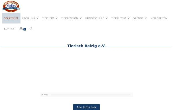 Vorschau von www.tierschutzverein-belzig.de, Tierschutzverein Belzig e.V.