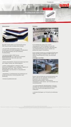 Vorschau der mobilen Webseite www.smt-montagetechnik.de, SMT GmbH