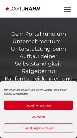 Vorschau der mobilen Webseite www.online-marketing-breuer.de, Online Marketing Breuer, Inh. Mark Breuer