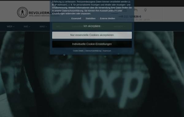 Vorschau von www.revolvermaenner.com, Revolvermänner GmbH