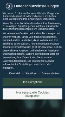 Vorschau der mobilen Webseite www.revolvermaenner.com, Revolvermänner GmbH