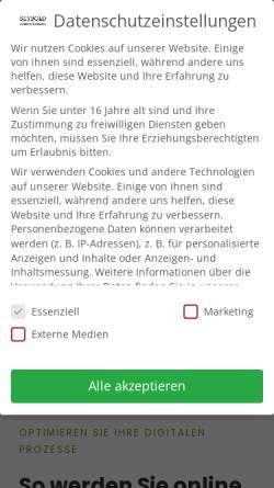Vorschau der mobilen Webseite www.rsim.de, RSIM Ralf Seybold Internet Marketing
