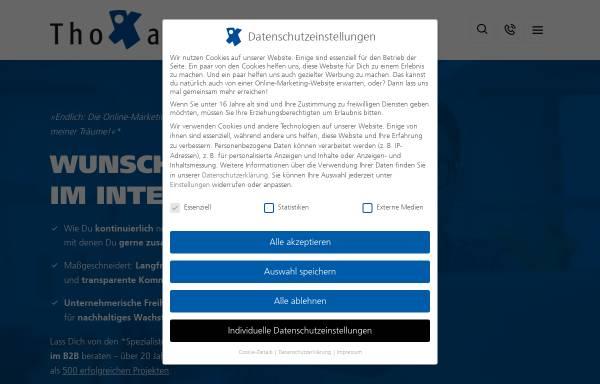 Vorschau von www.thoxan.com, Thoxan GmbH