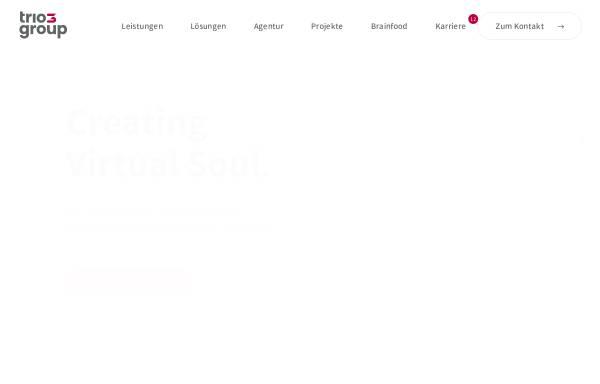Vorschau von www.trio-interactive.de, Trio-Interactive IT Services GmbH