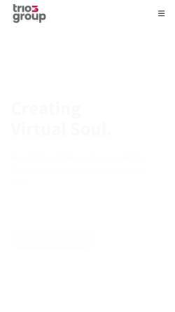 Vorschau der mobilen Webseite www.trio-interactive.de, Trio-Interactive IT Services GmbH