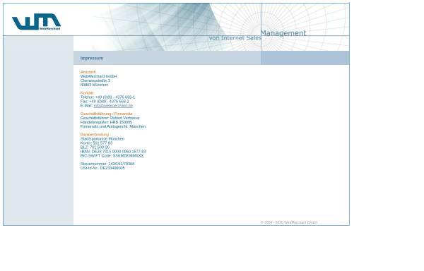 Vorschau von www.webmerchant.de, WebMerchant GmbH