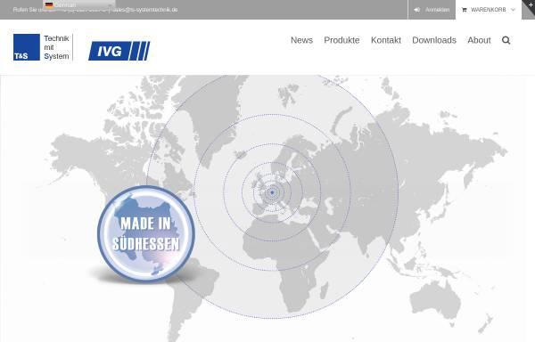 Vorschau von ts-systec.com, T&S Systemtechnik GmbH und IVG Systemtechnik GmbH