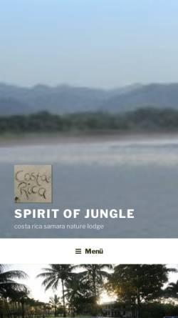 Vorschau der mobilen Webseite www.travel-costarica.net, Hotel Costa Rica