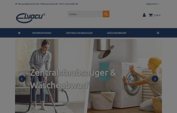 Vorschau von www.elvacu.de, GVT Gesellschaft für Vacuumtechnik mbH