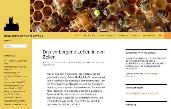 Vorschau von www.buckfastimker.ch, Buckfastimkerverband Schweiz