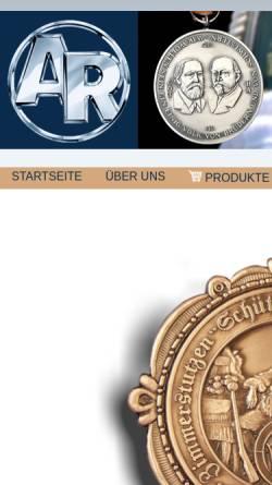Vorschau der mobilen Webseite www.alois-rettenmaier.de, Alois Rettenmaier Metallwarenfabrik