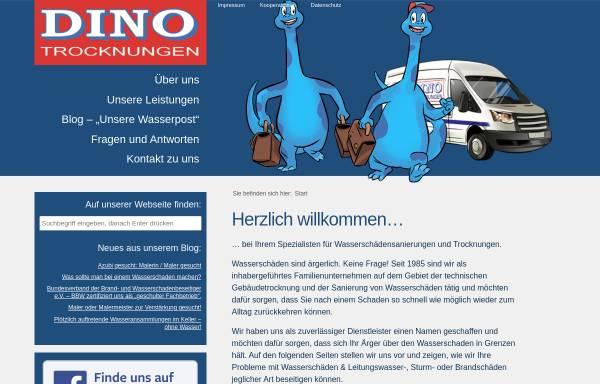 Vorschau von dino-trocknungen.de, DINO-Trocknungen und Bodenbeläge GmbH