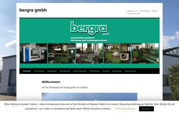 Vorschau von www.bergra.de, Bergra GmbH