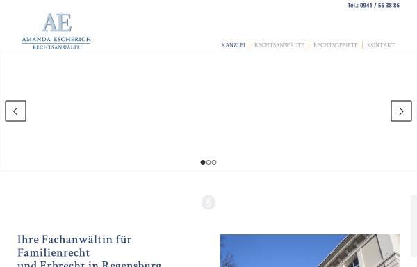 Vorschau von www.kanzlei-escherich.de, Kanzlei Escherich