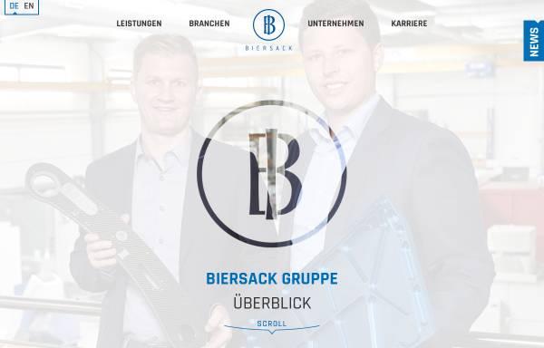 Vorschau von www.biersack.de, Biersack Maschinenbau GmbH