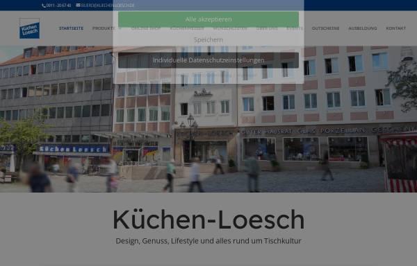 Vorschau von www.kuechen-loesch.de, Küchen-Loesch, Leonhd. Carl Loesch GmbH