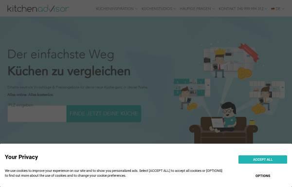 Vorschau von www.das-kuechenstudio-beck.de, Küchenstudio Beck