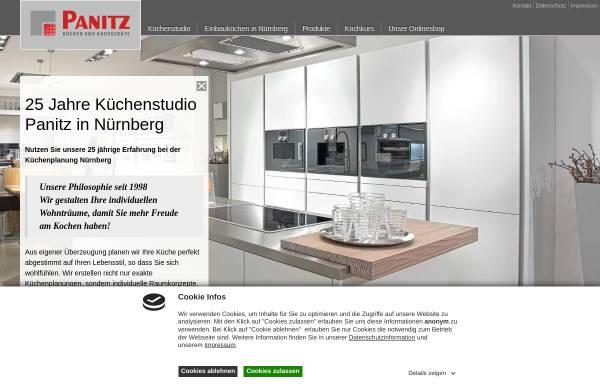 Vorschau von www.kuechen-panitz.de, Panitz Küchen und Hausgeräte GmbH