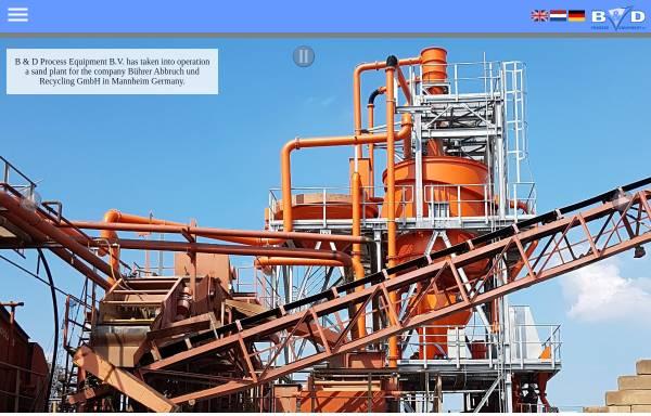 Vorschau von www.zand.nu, B&D Process Equipment B.V.