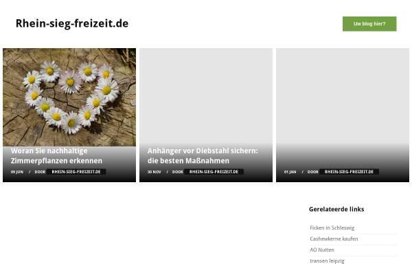 Vorschau von www.rhein-sieg-freizeit.de, Rhein-Sieg-Freizeit.de