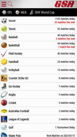 Vorschau der mobilen Webseite www.weltfussballarchiv.com, Weltfussballarchiv