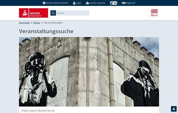 Vorschau von www.bremen.de, Bremen.online Veranstaltungen