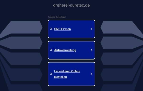 Vorschau von www.dreherei-duretec.de, Dreherei Duretec, Inh. Vladimir Duretec