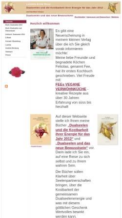 Vorschau der mobilen Webseite www.lusinia.de, Lusinia-Verlag, Natalie Auburger
