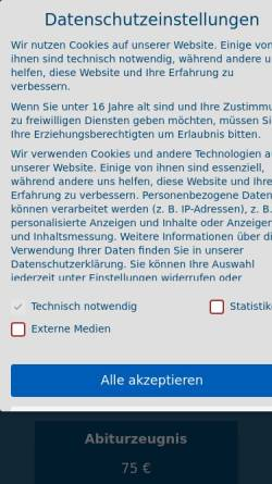 Vorschau der mobilen Webseite www.germanyts.de, Germany Translation Service