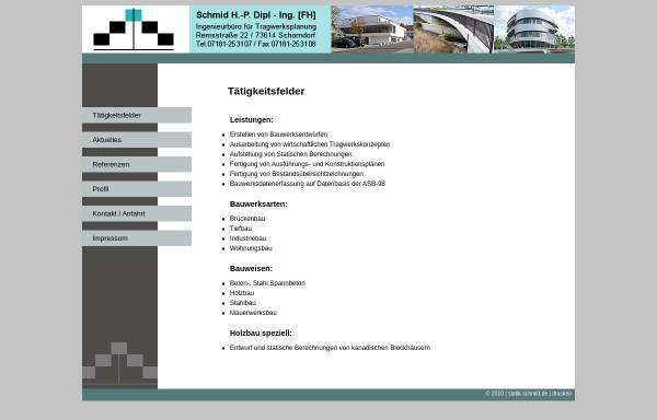 Vorschau von statik-schmid.de, Schmid, H.-P.