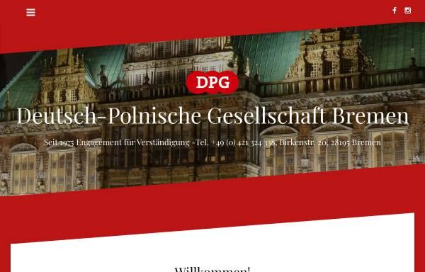 Vorschau von www.dpg-bremen.de, Deutsch-Polnische Gesellschaft Bremen e. V.