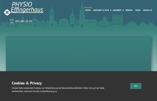 Vorschau von www.physioeffingerhaus.ch, Physio Effingerhaus