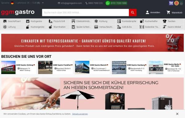 Vorschau von www.ggmgastro.de, GGM Gastro Bakür und Inan GbR