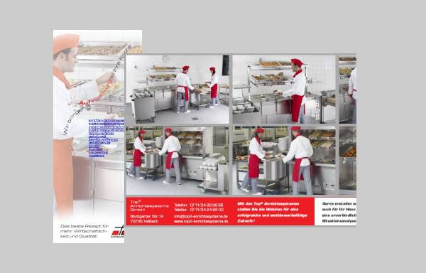 Vorschau von top2-anrichtesysteme.de, Top² Anrichtesysteme GmbH