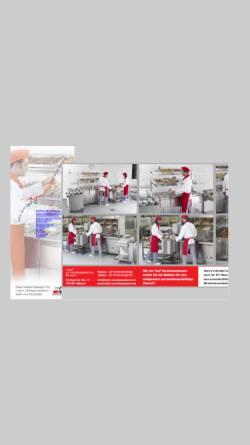 Vorschau der mobilen Webseite top2-anrichtesysteme.de, Top² Anrichtesysteme GmbH